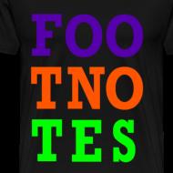 Design ~ Original Foo Tno Tes T-shirt - Men's