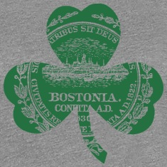 Bostonia Boston Massachusetts Women's T-Shirts