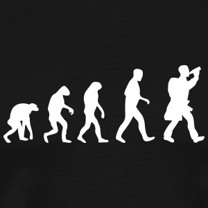 hiking evolution fun T-Shirts - Men's Premium T-Shirt