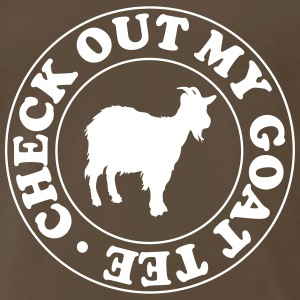 Check out my goat tee T-Shirts - Men's Premium T-Shirt