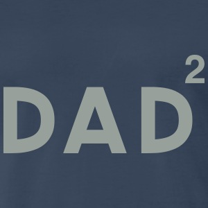 Dad Squared. Twins T-Shirts - Men's Premium T-Shirt