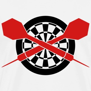 Darts Board T-Shirts - Men's Premium T-Shirt
