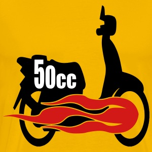 50cc Scooter T-Shirts - Men's Premium T-Shirt