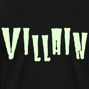 Villain T-Shirts - Men's Premium T-Shirt