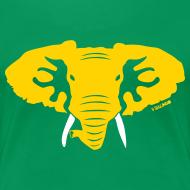 Design ~ Hellaphant - Women's Fitted Tee