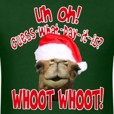 Christmas Hump Day Camel