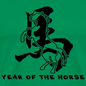 Year of The Horse T-Shirt - Men's Premium T-Shirt