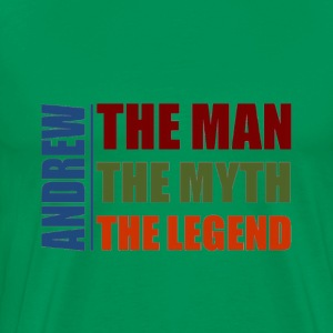 Andrew the man, the myth, the legend - Men's Premium T-Shirt