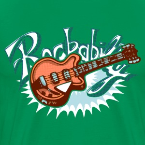 rockabilly logo T-Shirts - Men's Premium T-Shirt