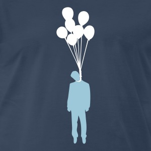 Balloon Suicide T-Shirts - Men's Premium T-Shirt