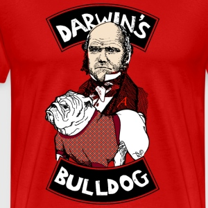 DARWIN'S ACTUAL BULLDOG by Tai's Tees - Men's Premium T-Shirt