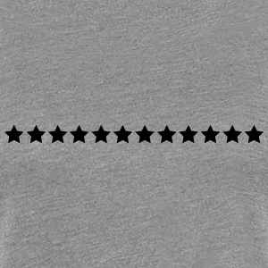 Stars, 12,twelve, star, row, chain, emblem, day Women's T-Shirts - Women's Premium T-Shirt