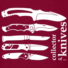 collector of knives T-Shirts