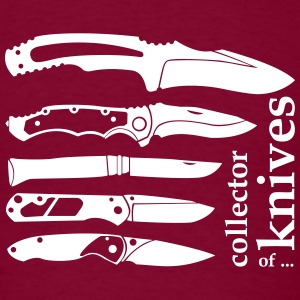 collector of knives T-Shirts - Men's T-Shirt