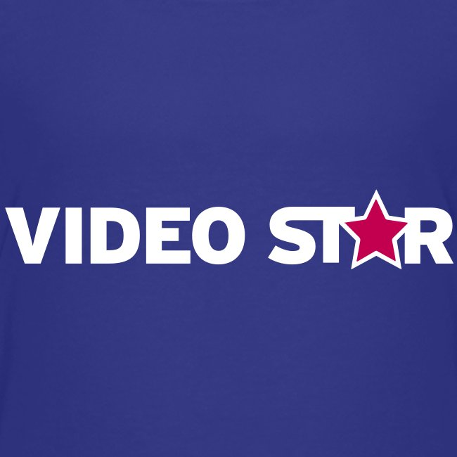Video Star Kids Logo Tee