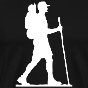 Hiker T-Shirts - Men's Premium T-Shirt