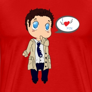Castiel love T-Shirts - Men's Premium T-Shirt
