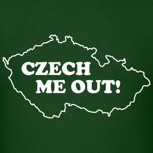 Czech me out T-Shirts - Men's T-Shirt