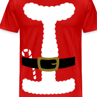 Design ~ SANTA CLAUS SUIT - Men's 3XL/4XL Shirt