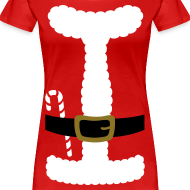 Design ~ SANTA CLAUS SUIT - Women's Plus Size