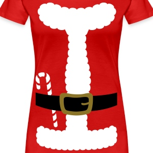 SANTA CLAUS SUIT - Women's Plus Size - Women's Premium T-Shirt