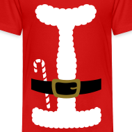 Design ~ I LOVE SANTA CLAUS - Toddler T-Shirt