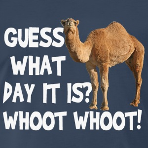 Hump Day Camel Guess What Day It Is T-shirt - Men's Premium T-Shirt
