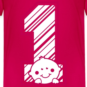 One Year - Birthday Boy Baby & Toddler Shirts - Toddler Premium T-Shirt