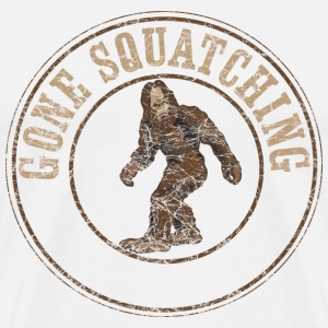 Gone Squatching T-Shirts - Men's Premium T-Shirt