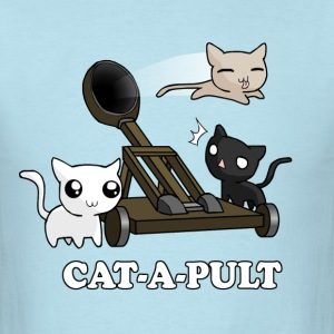 Cat-a-Pult - Men's T-Shirt