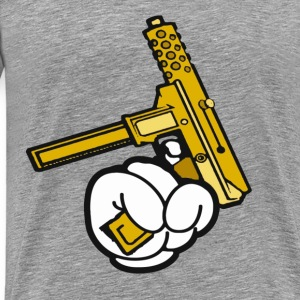 Golden Gun  T-Shirts - Men's Premium T-Shirt