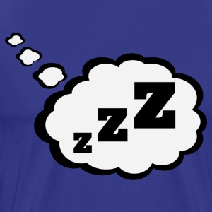 sleepy Thought Bubble Shirt - Men's Premium T-Shirt