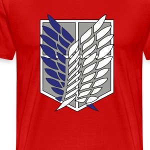 Scouting Legion- Recon Corps- Attack on Titan T-Shirts - Men's Premium T-Shirt