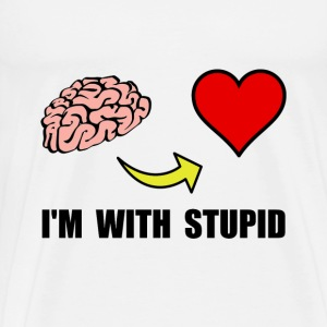 Stupid Heart - Men's Premium T-Shirt
