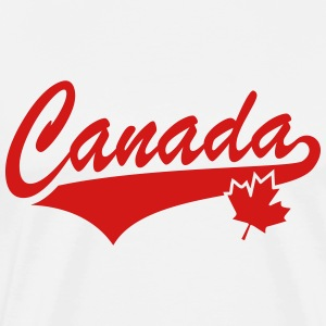 Canada Maple Leaf T-Shirt RW - Men's Premium T-Shirt