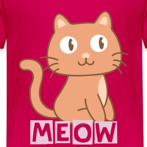 cute kitty cat Kids' Shirts - Kids' Premium T-Shirt
