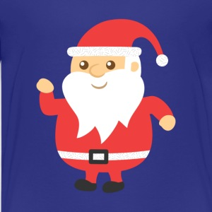cute and jovial santa for Christmas Kids' Shirts - Kids' Premium T-Shirt