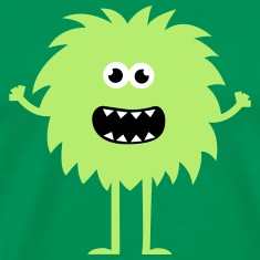 Funny Cute Monster T-Shirts