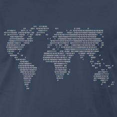 World Code World in binary Shirt