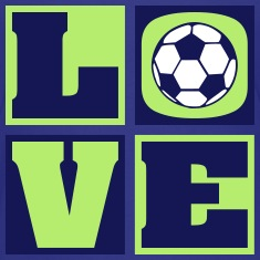Love Soccer! (Kids')
