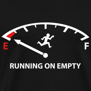 Running On Empty - Men's Premium T-Shirt