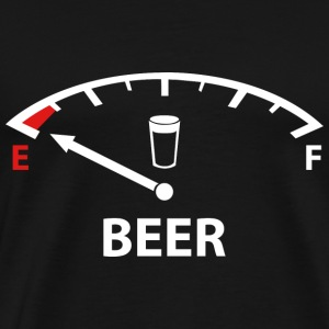 Running On Empty : Beer - Men's Premium T-Shirt