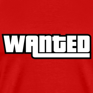 Wanted - Men's Premium T-Shirt