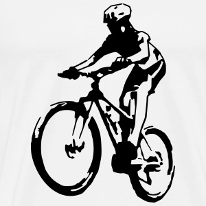 Mountainbike (1 color) T-Shirts - Men's Premium T-Shirt