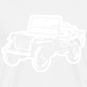 Willys Jeep (diff. color) T-Shirts - Men's Premium T-Shirt