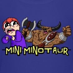 Mini Minotaur Tobuscus Kids' Shirts