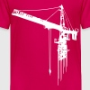 tower crane (1 color) Kids' Shirts - Kids' Premium T-Shirt