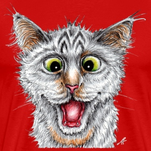 Happy Cat - Men's Premium T-Shirt