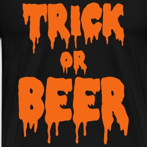 trick or beer T-Shirts - Men's Premium T-Shirt