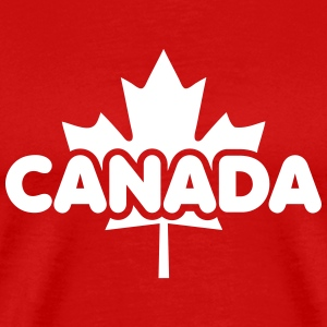 CANADA Maple Leaf Design T-Shirt WR - Men's Premium T-Shirt